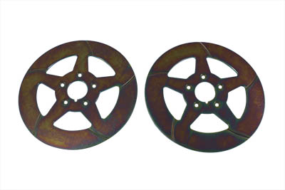 "11-1/2"" Front Brake Disc 5-Spoke Style"
